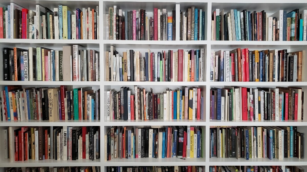 What An Art Critic Does In Coronavirus Isolation Organize Books Los Angeles Times