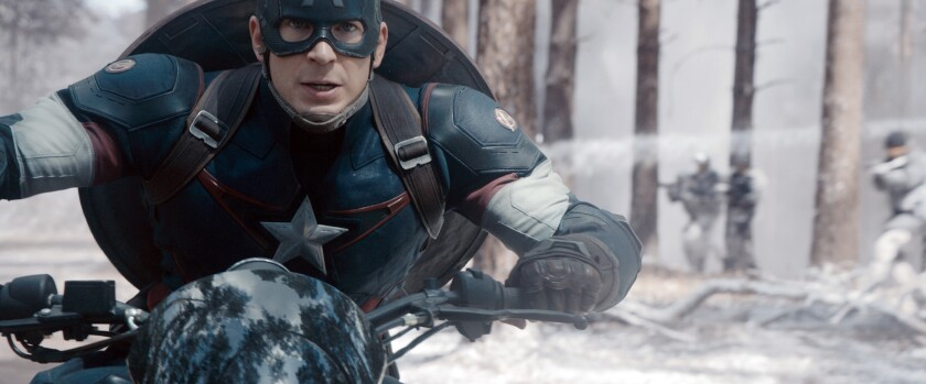 Captain America in 'Avengers: Age of Ultron'
