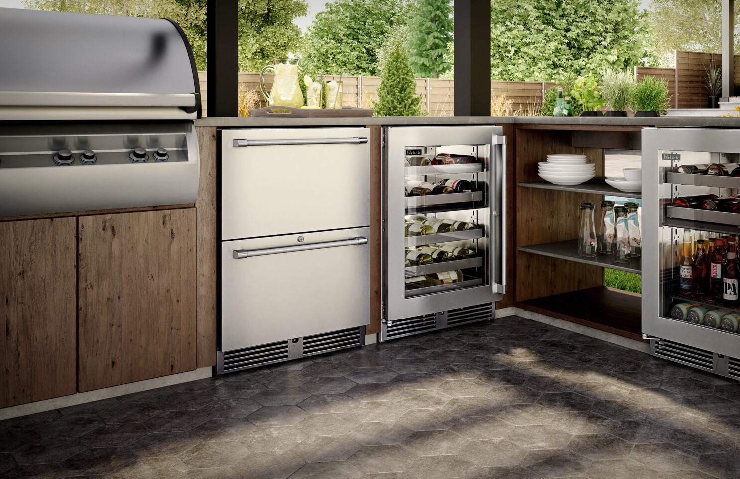 Glamped-up grilling in luxury outdoor kitchens - Los Angeles ...
