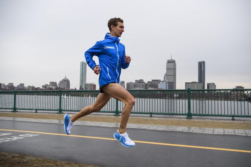 US Marathon Trials Tyler's Push
