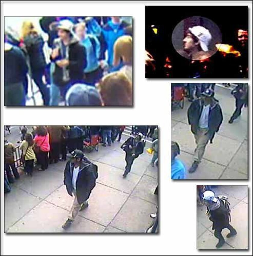 Images released by the FBI Thursday.