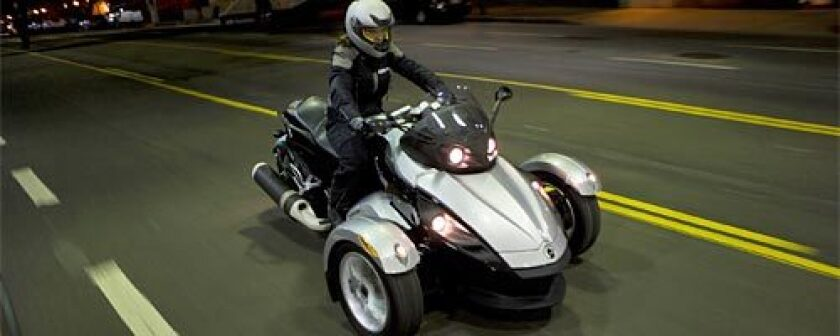 The Can-Am Spyder is aimed at riders who want the thrill of motorcycling but not the risk. BRP is known for entering niche markets and expanding and then dominating them.