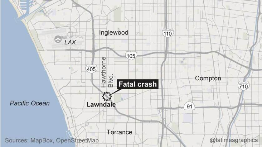 All southbound lanes of the 405 Freeway were reopened Wednesday morning after a fatal collision in Lawndale.