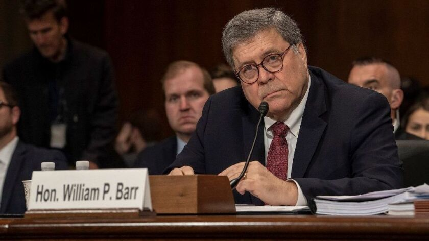 Democrats vote to hold Barr in contempt as Trump asserts executive privilege over full Mueller report