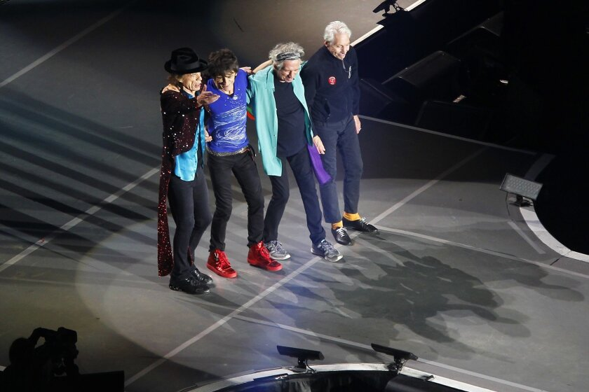 The Rolling Stones to mount four-year museum tour  - The San
