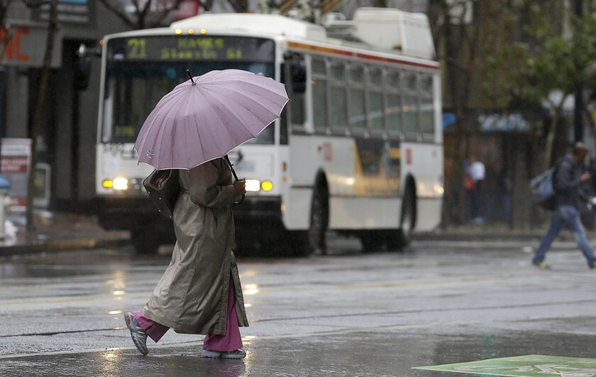 Rain in San Francisco