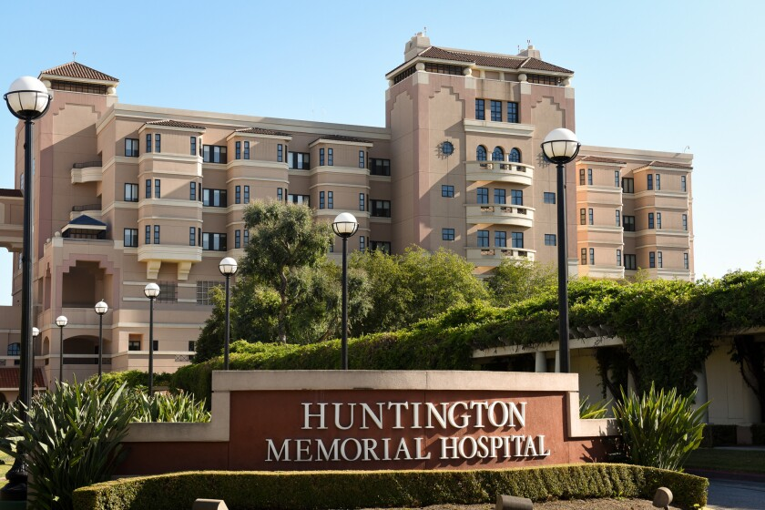The board of Huntington Hospital in Pasadena has rejected the recommendation of its medical leadership and voted to participate in California's End of Life Option Act.