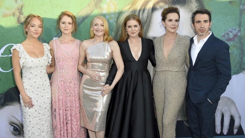 Sydney Sweeney, Eliza Scanlen, Patricia Clarkson, Amy Adams, Elizabeth Perkins, Chris Messina