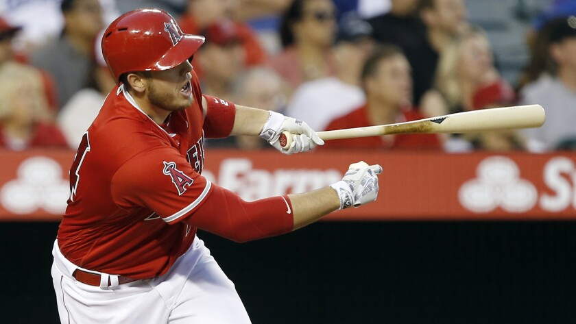 Angels projected roster