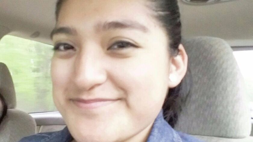 Maria Isabel Vazquez's family depends on the driver's license that DACA allowed her to obtain.