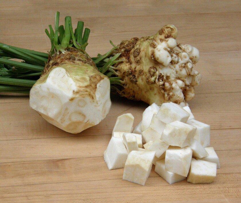 """""""Prinz"""" celeriac is celery flavor without the fiber."""