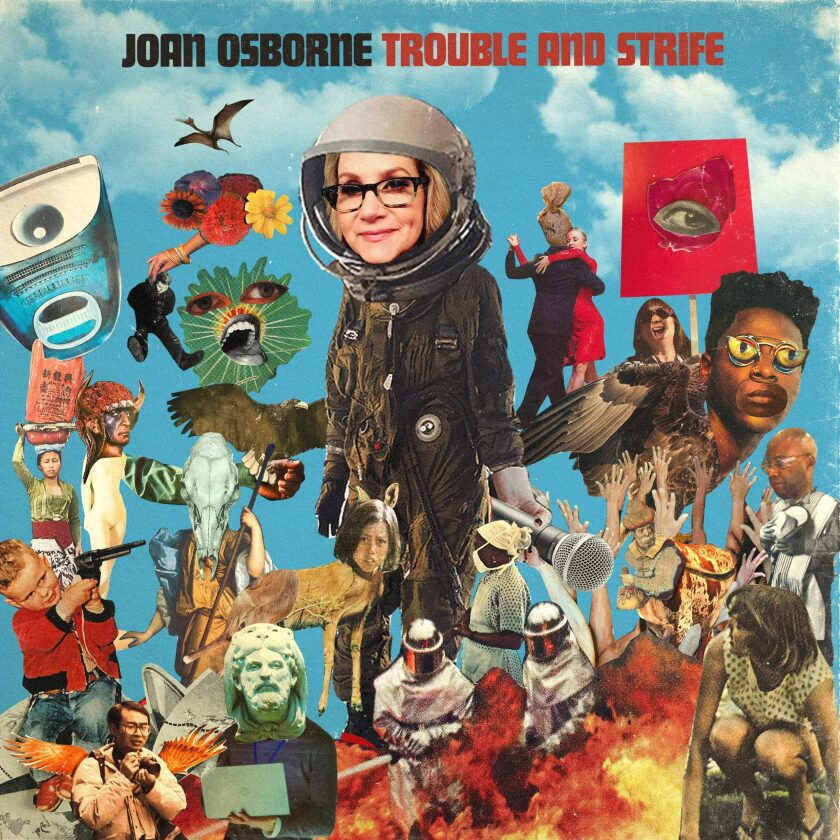 "This cover image released by Thirty Tigers shows ""Trouble and Strife"" by Joan Osborne. (Thirty Tigers via AP)"