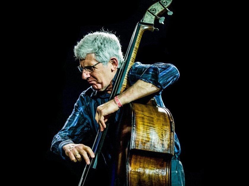 MUSIC_Musician Mark Dresser. Photo/Peter Gannushkin