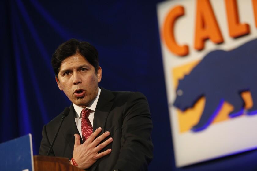 California Senate President Pro Tem Kevin de León