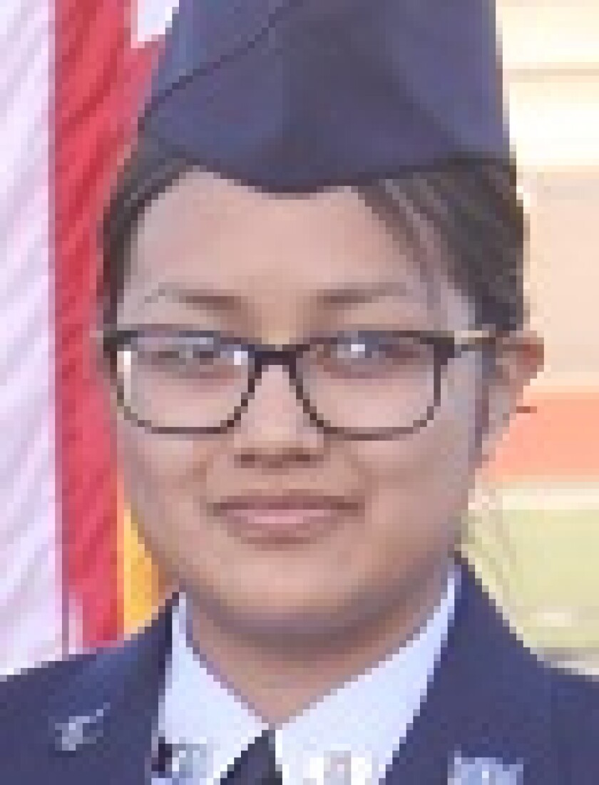 AFJROTC Cadet Isabel Carreon