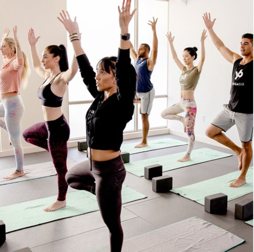 YogaSix brings a variety of yoga class offerings.