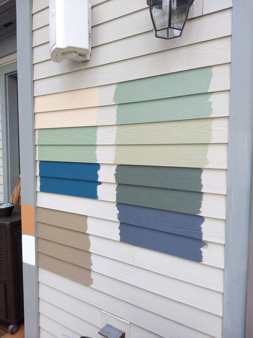 One of these colors may end up over the entire house. Color selection confounds many.