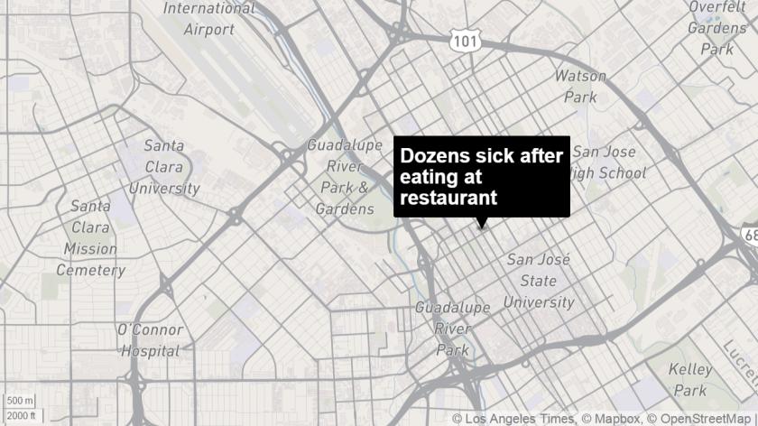 Dozens Of Customers Get Sick After Eating At San Jose