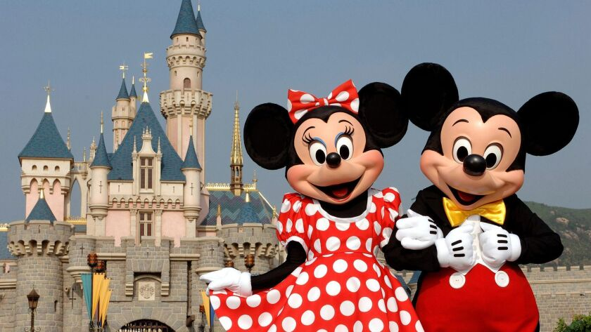 Disney's parks and resorts will now share a unit with the company's consumer products business.