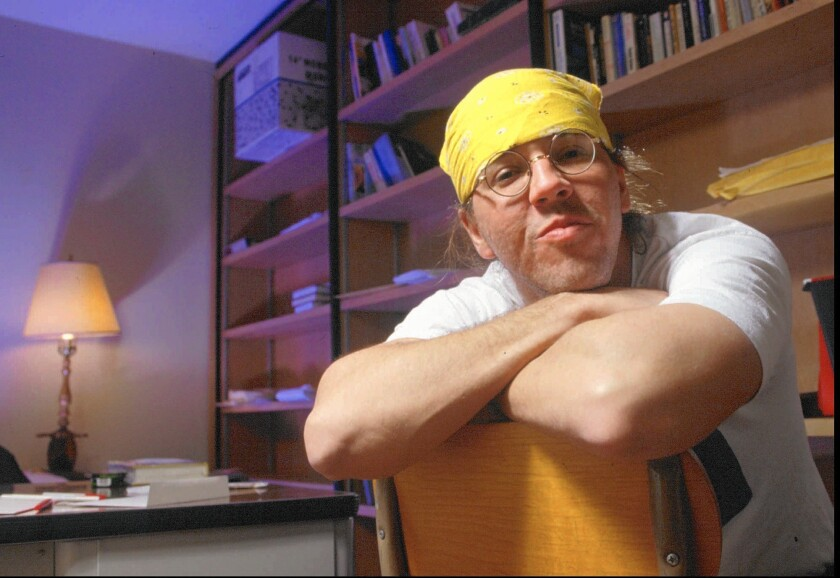 Author David Foster Wallace on March 18, 1996.