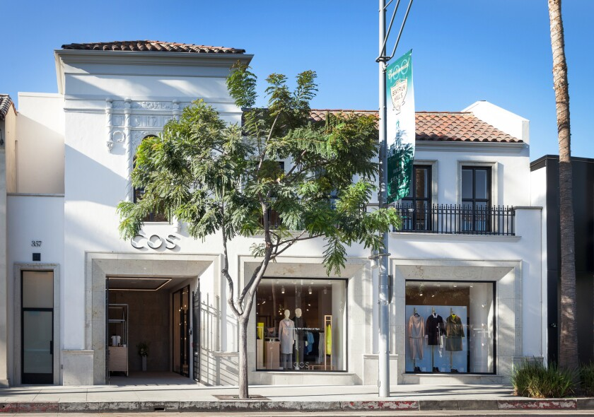 First Stateside Store for Swedish Brand COS