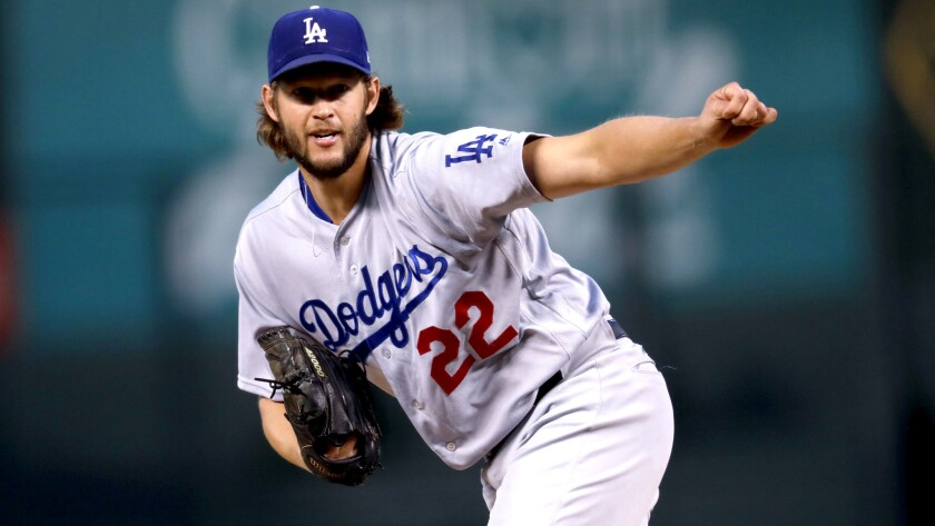 Dodgers starter Clayton Kershaw gave up three runs in the second inning during a shaky outing against the Rockies on Saturday.