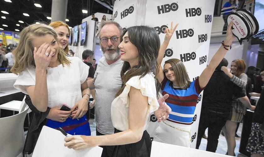 'Game of Thrones' actors