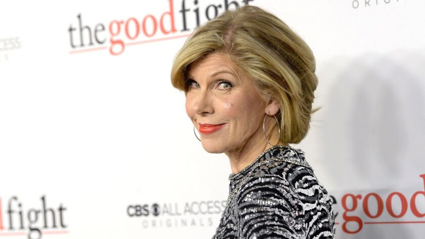 "Christine Baranski attends ""The Good Fight"" World Premiere at Jazz at Lincoln Center on Feb. 8, 2017 in New York City."