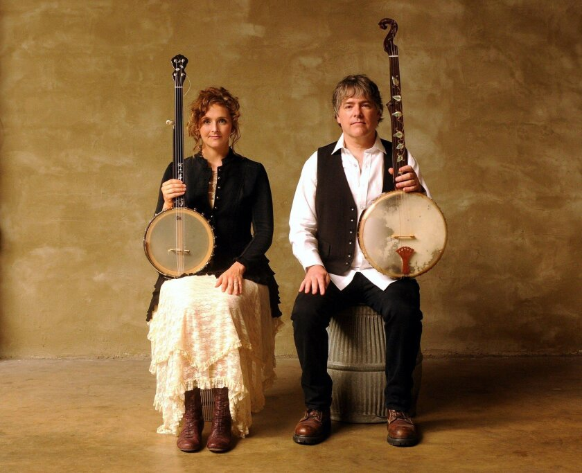 Abigail Washburn and Bela Fleck will perform March 15 in CCAE's Concert Hall.