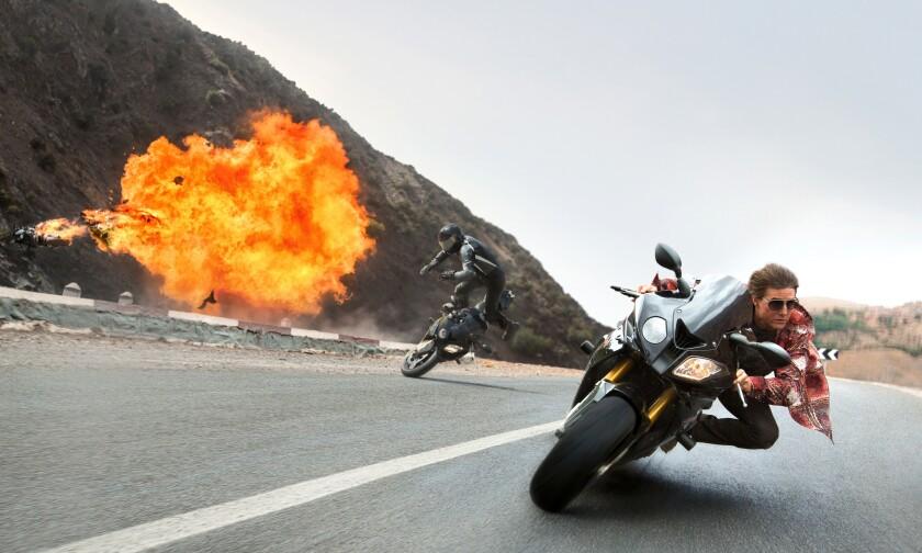 Tom Cruise interpreta nuevamente a Ethan Hunt en la quinta entrega de la espectacular saga de acción.