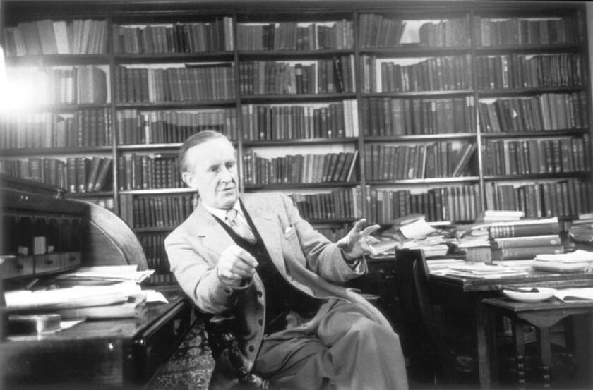 Author J.R.R. Tolkien.