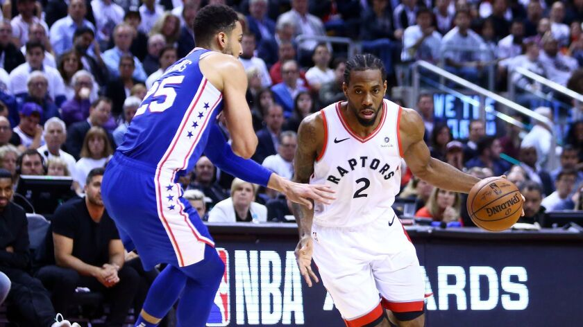 reputable site 49f7f b6799 NBA playoffs: Raptors rout 76ers to take series lead; Paul ...