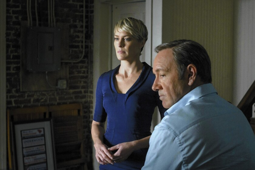 Review: 'House of Cards' plays new hand with brutal, clear resolve