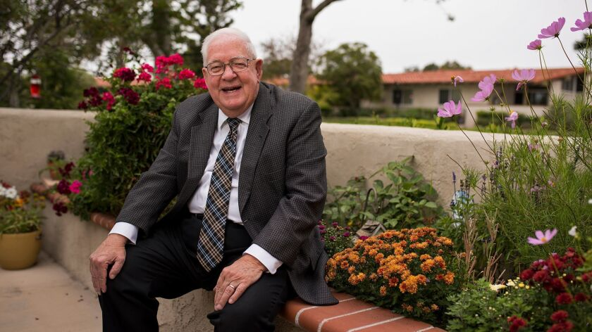 George Hess is retiring from Loyola Marymount University next week after teaching for over 40 years.