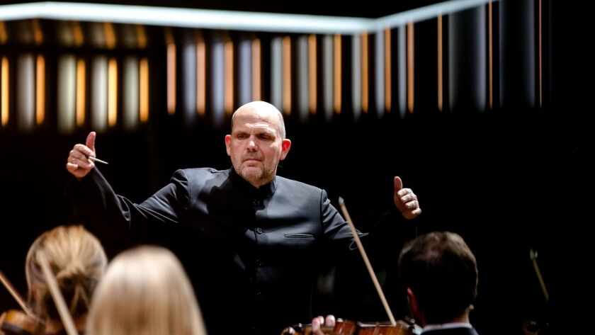 Dutch conductor Jaap van Zweden, photographed in 2016. He will become music director of the New York Philharmonic in 2018.