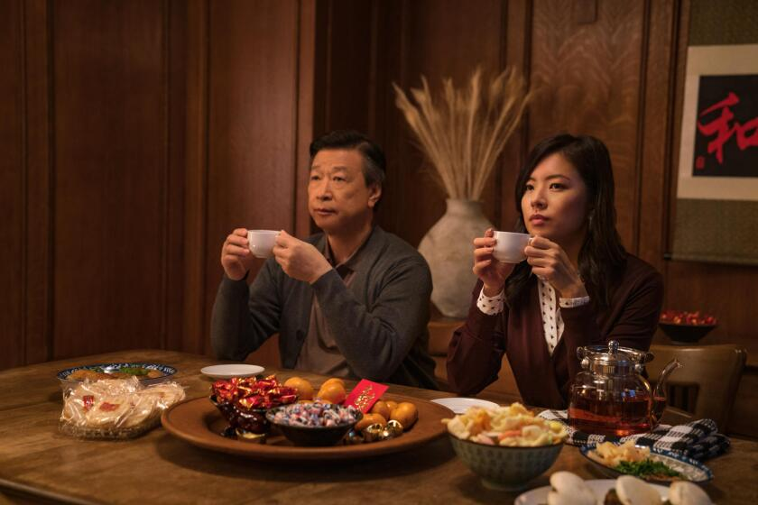 Tzi Ma and Christine Ko in 'Tigertail,' a drama from Alan Yang now streaming on Netflix.