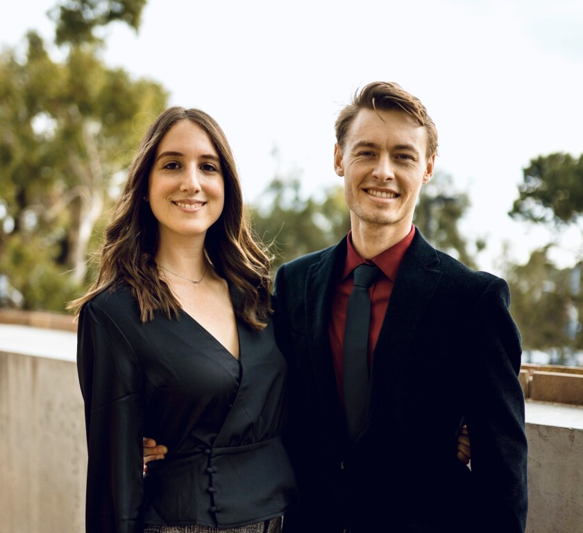 Sarah and Alex Stein are the founders of Point Loma-based tutoring and mentoring company Tutors and Friends.