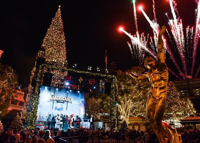 The Americana at Brand: Christmas Tree Lighting