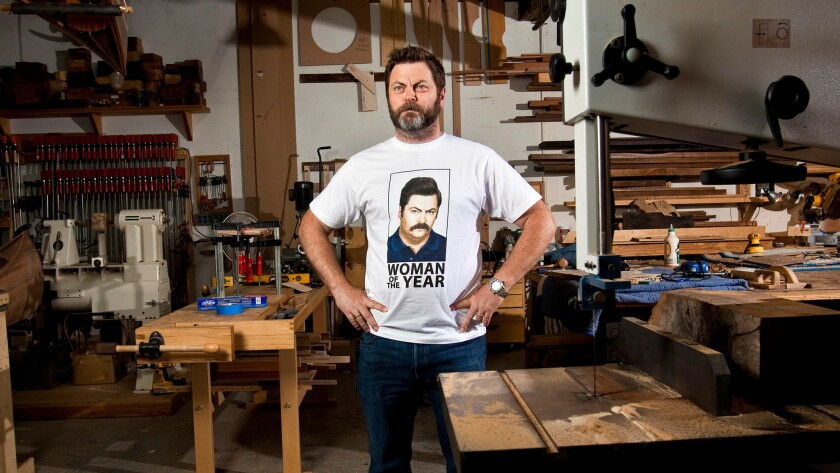 'Parks and Rec' star Nick Offerman