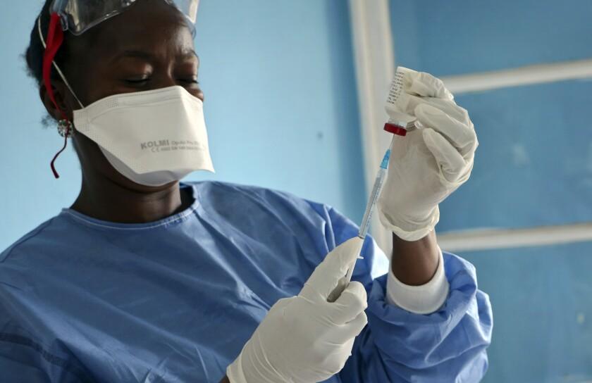 Ebola Vaccine Stockpile