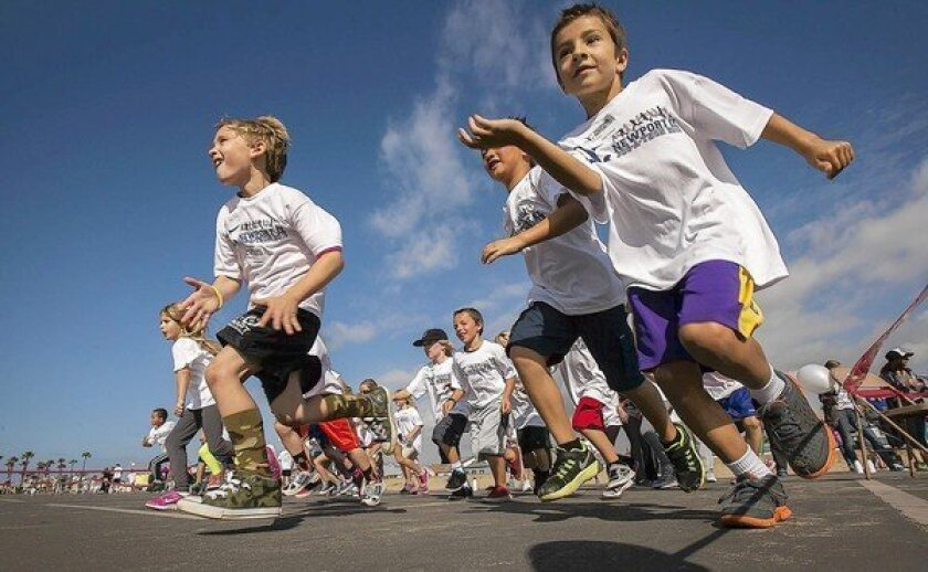 Jogging for money, exercise and camaraderie