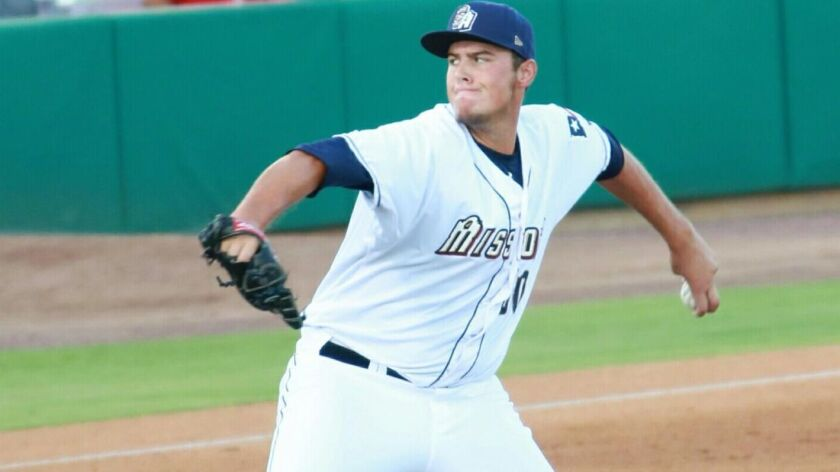 Left-handed reliever Brad Wieck represented the Padres in the 2016 Arizona Fall League.
