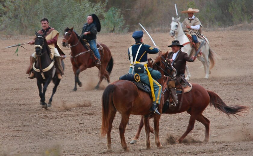 Image result for San Pasqual Battlefield State Historic Park Battle Day
