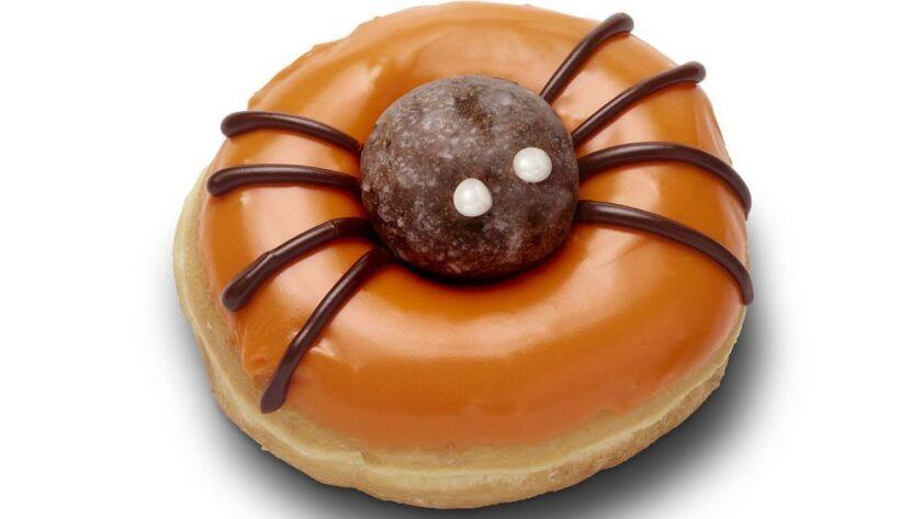 Halloween Spider Donut (October - 2018) (image + transparency)