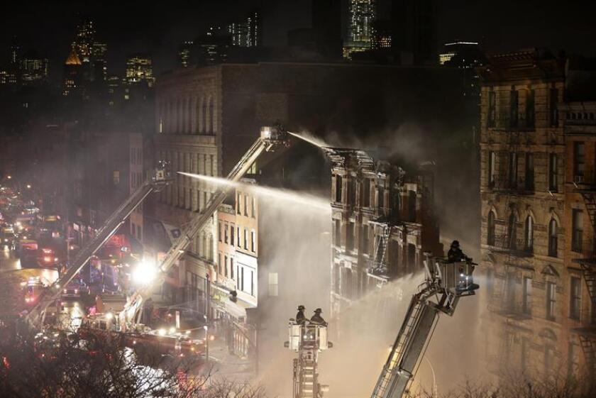 Al menos doce personas murieron hoy por un incendio en un edificio de apartamentos del distrito neoyorquino de El Bronx, según un saldo provisional. EFE/ARCHIVO