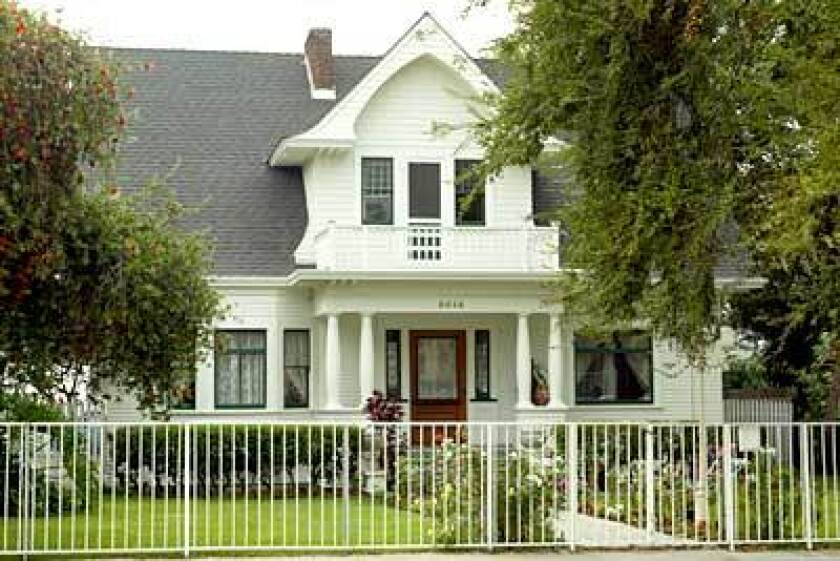 A home on Monte Vista Street is one of many in Highland Park that have been restored. The neighborhood contains every popular Southern California style from the late 1880s to the 1940s.