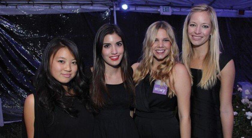 Janet Chao, Nadia Garas, Hillary Kassis, Nicole Craven (Photo: Jon Clark)