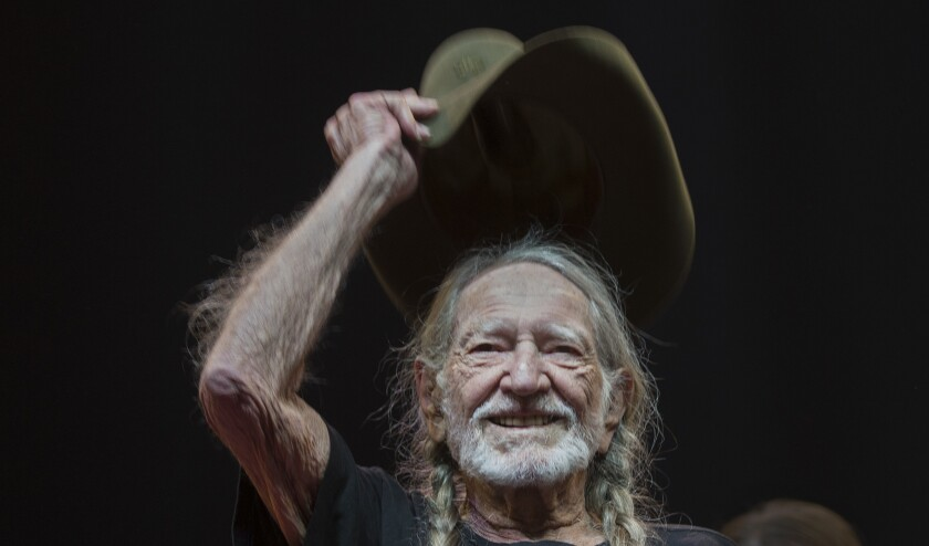 """No Sales, No Licensing"" for the Willie Nelson photos."