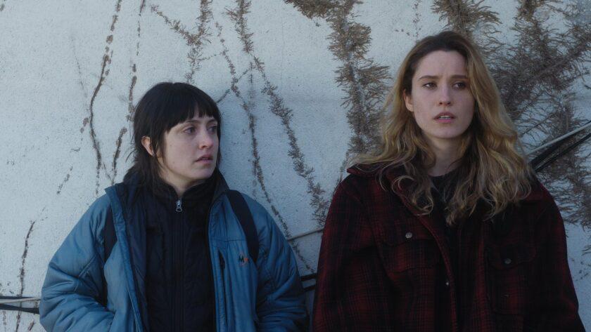"Tallie Medel, left, and Norma Kuhling in ""Fourteen."""