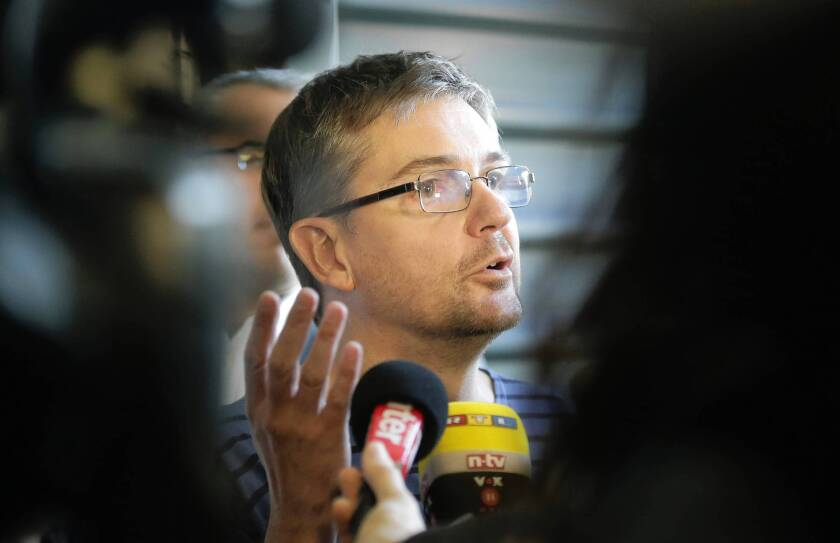Stephane Charbonnier, known as Charb, is the editor of the left-leaning satirical weekly Charlie Hebdo, which since 2006 has been sued, threatened and firebombed for its sporadic publication of cartoons mocking the Muslim prophet Muhammad.